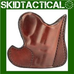 "Don Hume S&W J Frame, Taurus 85 001 Front Pocket 2"" Ambidextrous Leather Ho"