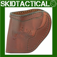 """Don Hume S&W J Frame, Taurus 85 Clip On H715M 2"""" Right Hand Leather Holster"""