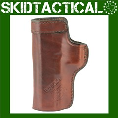 """Don Hume Glock 20/21 Clip On H715M 4.5"""" Right Hand Leather Holster - Brown"""