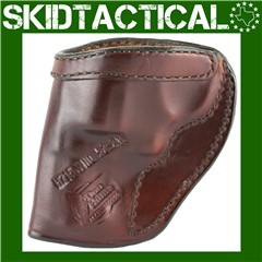 Don Hume Ruger SP101 H715M Right Hand Leather Holster - Brown