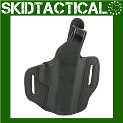 """Don Hume Glock 19/23/32 721-P 4"""" Right Hand Leather Holster - Black"""