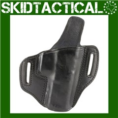 """Don Hume Glock 20/21 H721OT 4.6"""" Right Hand Leather Holster - Black"""