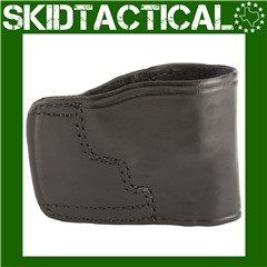 """Don Hume S&W J Frame, Taurus 85 JIT Slide 2"""" Right Hand Leather Holster - B"""