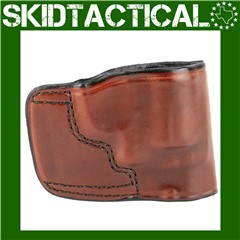 Don Hume S&W J Frame, Taurus 85 JIT Slide Right Hand Leather - Brown