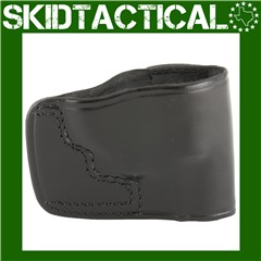 Don Hume Ruger LCR JIT Slide Right Hand Leather Holster - Black