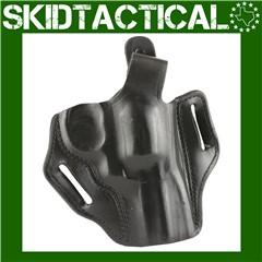"DeSantis S&W L Frame 3"" 001 Thumb Break Scabbard Right Hand Leather Belt Ho"