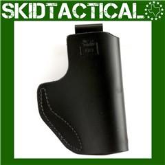 DeSantis Glock 43/Kahr PM9 031 The Insider Left Hand Leather Inside Waistba