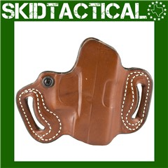 DeSantis Glock 20/21 086 Mini Slide Right Hand Leather Belt Holster - Tan
