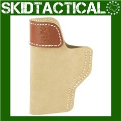DeSantis Glock 19/23/36 106 Sof-Tuck Right Hand Leather Inside Waistband Ho