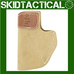 DeSantis Glock 43/Kahr PM9 106 Sof-Tuck Right Hand Leather Inside Waistband