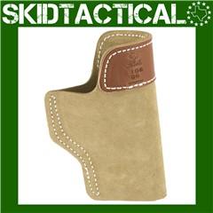 DeSantis Glock 19/23/36 106 Sof-Tuck Left Hand Leather Inside Waistband Hol