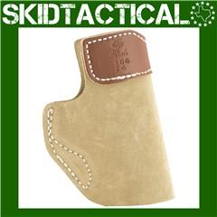 DeSantis S&W Shield 106 Sof-Tuck Left Hand Leather Inside Waistband Holster