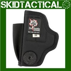 DeSantis Glock 43/Kahr PM9 M24 Tuck This II Ambidextrous Leather Belt Holst