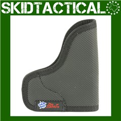 DeSantis Keltec P3AT/Ruger LCP N38 The Nemesis Ambidextrous Nylon Pocket Ho