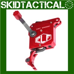 Elftmann Tactical Curved Trigger - Red
