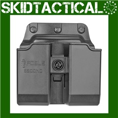 Fobus Double Mag Glock 9/40 Belt Polymer Pouch - Black