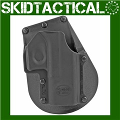 """Fobus Glock 36 Paddle 3.75"""" Right Hand Polymer Holster - Black"""