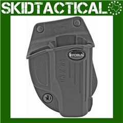 Fobus Ruger LC9 E2 Right Hand Kydex Paddle Holster - Black