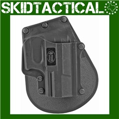 Fobus Walther P22 Paddle Right Hand Polymer Holster - Black
