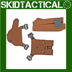 Galco Glock 42 Classic Lite 2.0 Right Hand Center Cut Steerhide Holster - N