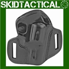 Galco S&W K & L Frame Combat Master Right Hand Premium Steerhide - Black