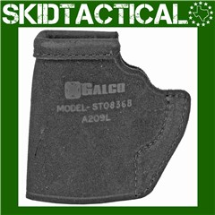 Galco Ruger LCP II Stow-N-Go Ambidextrous Center Cut Steerhide - Black