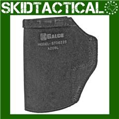 Galco Sig Sauer P320C Stow-N-Go Ambidextrous Center Cut Steerhide - Black