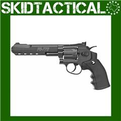 "Gamo PR-776 .177 Cal Pellet 6.5"" Air Pistol 8rd 400FPS - Black"