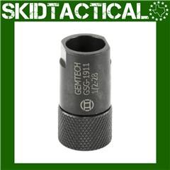 Gemtech 1/2x28 W/Thread Protector Sig 1911 .22 22 LR Adapter - Black