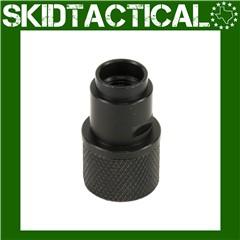 Gemtech 1/2x28 W/Thread Protector P22 22 LR Adapter - Black