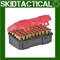 Plano .357/.38 Sp/.38 50 Round Ammo Case Plastic - 6/Pack