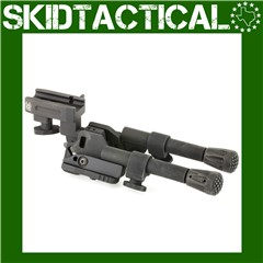 GG&G Picatinny XDS Tactical Bipod Compact - Black