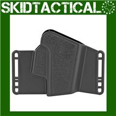 "Glock Glock 20/21 Sport/Combat 4.5"" Ambidextrous Polymer Holster - Black"
