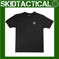 Glock Short Sleeve T-Shirt Cotton Tee Shirt XLarge - Black