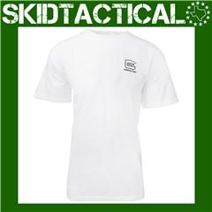 Glock OEM Carry Confidence T-Shirt Cotton Medium - Red, White, Blue