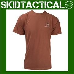 Glock OEM Carry Confidence T-Shirt Cotton XXLarge - Orange