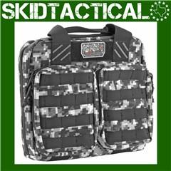 G-Outdoors Tactical Double Pistol Case Nylon Range Bag Up To 2 Pistols - Gr
