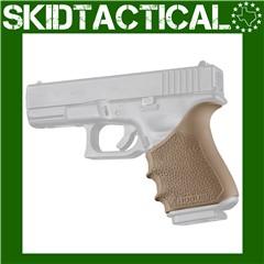 Glock 19, 23, 32, 38 (Gen 3-4) HandALL Beavertail Grip Sleeve - FDE