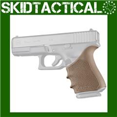 Glock 19, 23, 32, 38 (Gen 1-2-5) HandALL Beavertail Grip Sleeve - FDE