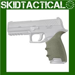 Sig Sauer P320 Full Size HandALL Beavertail Grip Sleeve - OD Green