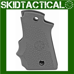 Kimber Micro 9 Cobblestone Rubber Grip w/ Finger Grooves (Ambi Safety) - Bl