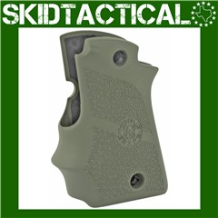 Kimber Micro 9 Cobblestone Rubber Grip w/ Finger Grooves (Ambi Safety) - OD