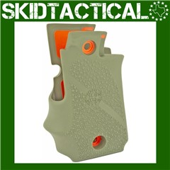 Springfield Armory 911 .380 Cobblestone Rubber Grip w/ Finger Grooves (Ambi