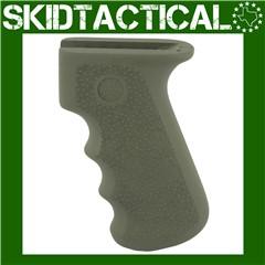 AK-47/AK-74 Rubber Grip w/ Finger Grooves - OD Green