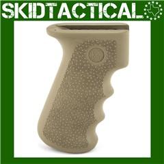 AK-47/AK-74 Rubber Grip w/ Finger Grooves - Flat Dark Earth