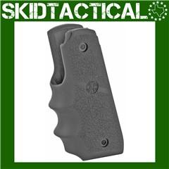 Ruger 22/45 MKIV Black Rubber Grip w/ Finger Grooves