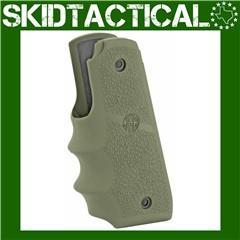 Ruger 22/45 MKIV OD Green Rubber Grip w/ Finger Grooves