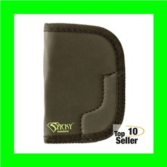 Sticky Holsters MD6 MD-6 Ruger SP101 Latex Free Synthetic Rubber Black...
