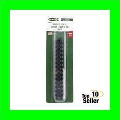 Weaver Mounts 48343 Multi-Slot Savage 10 Short Action,8-40 1-Piece Black