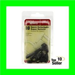 """Uncle Mikes 11812 Rifle Swivels 1"""" Black Remington 742 ADL"""